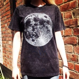 Full Moon T-Shirt Luna Lotus