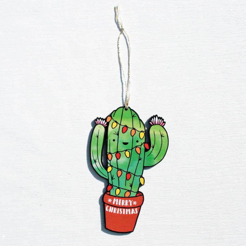 Christmas Cactus Decoration Luna Lotus