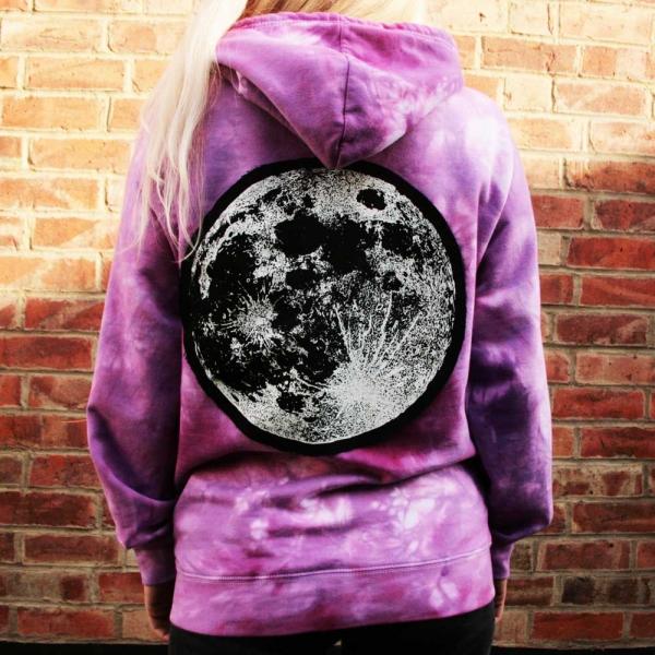 Amethyst Moon Hoodie Luna Lotus
