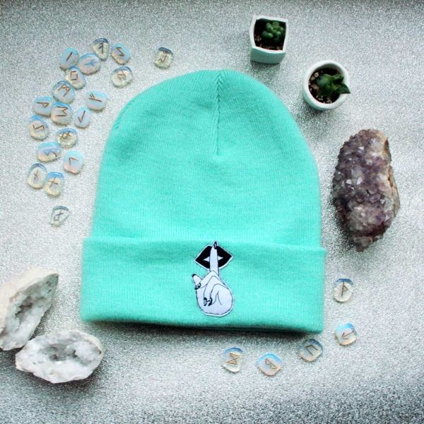 Witch Hand Beanie Hat