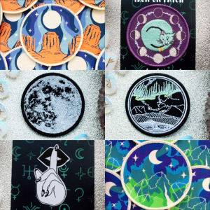 Full Moon Friday Patch collection bundle