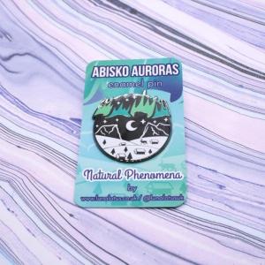 Abisko Auroras Hard Enamel Pin