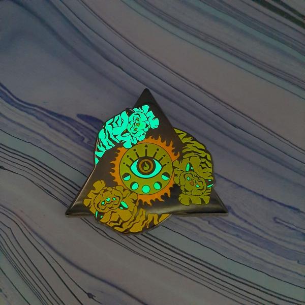 Tiger Fire Elemental Pin