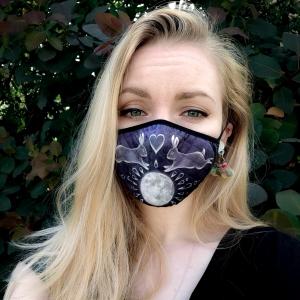 Luna Lotus Bunny Face Mask